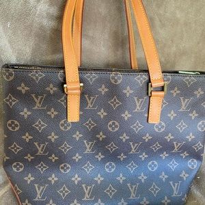 Louis Vuitton Cabas Piano Shoulder Tote